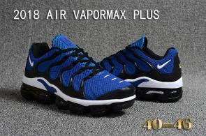 air vapormax plus baskets basses blue white